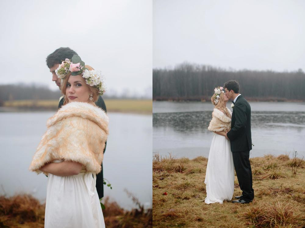 montdale country club rainy day wedding