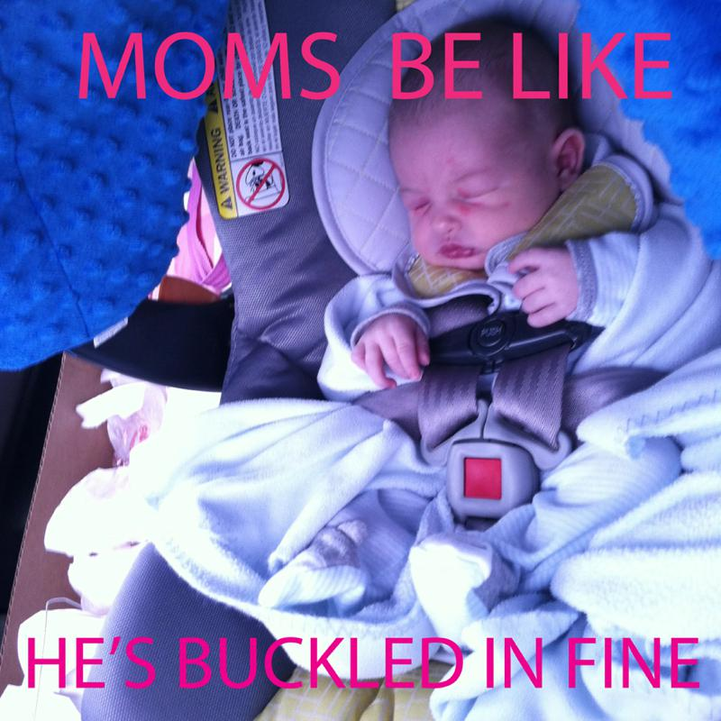 Non Toxic Tuesday How To Properly Buckle A Newborn Into A Car Seat