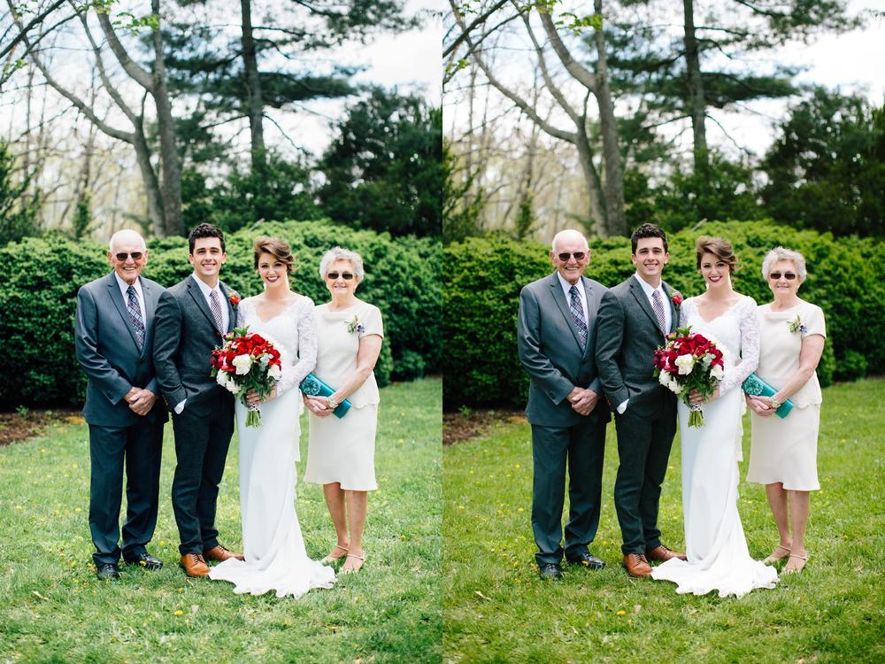 VSCO Kodak Gold 100 Portrait on left, VSCO Kodak Portra 160 on right