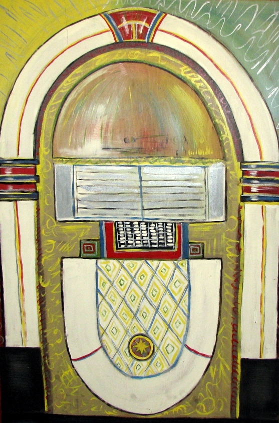 Wood Jukebox flat