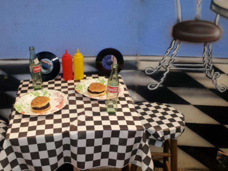 50's Diner Tables