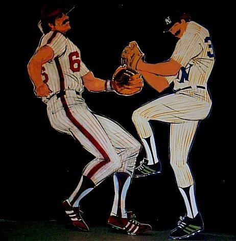 Baseball cutouts, foamcore