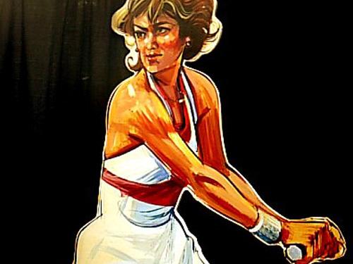 Tennis, foamcore