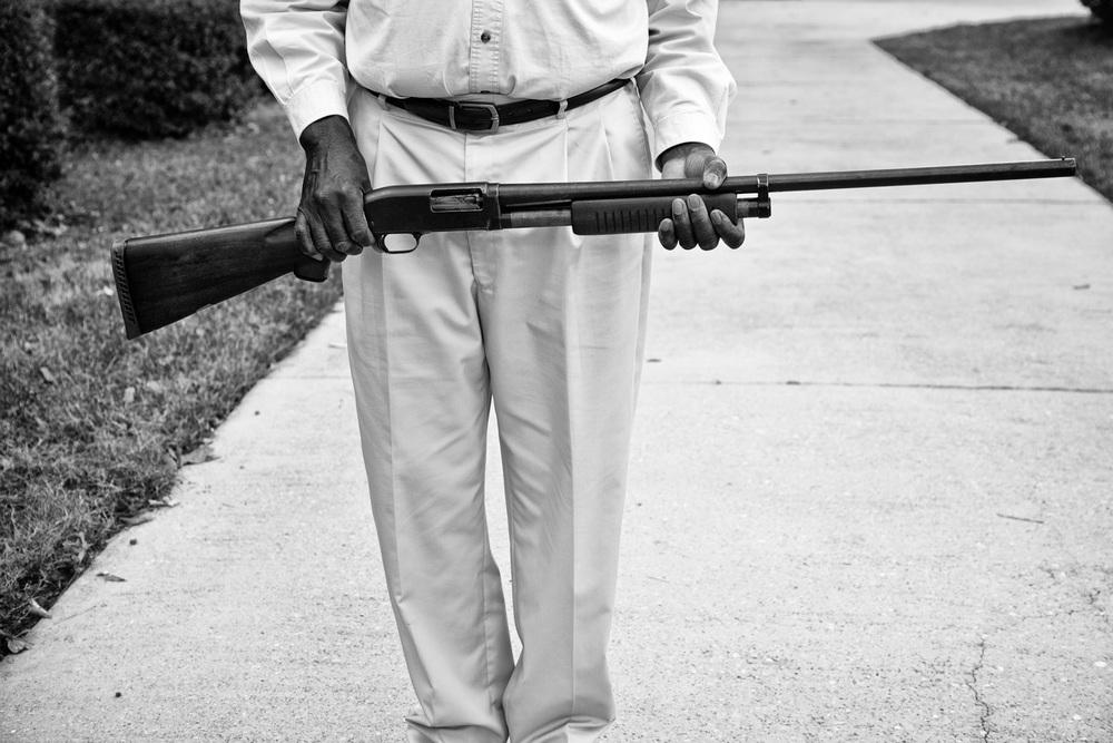 Frank with Shotgun, 2010