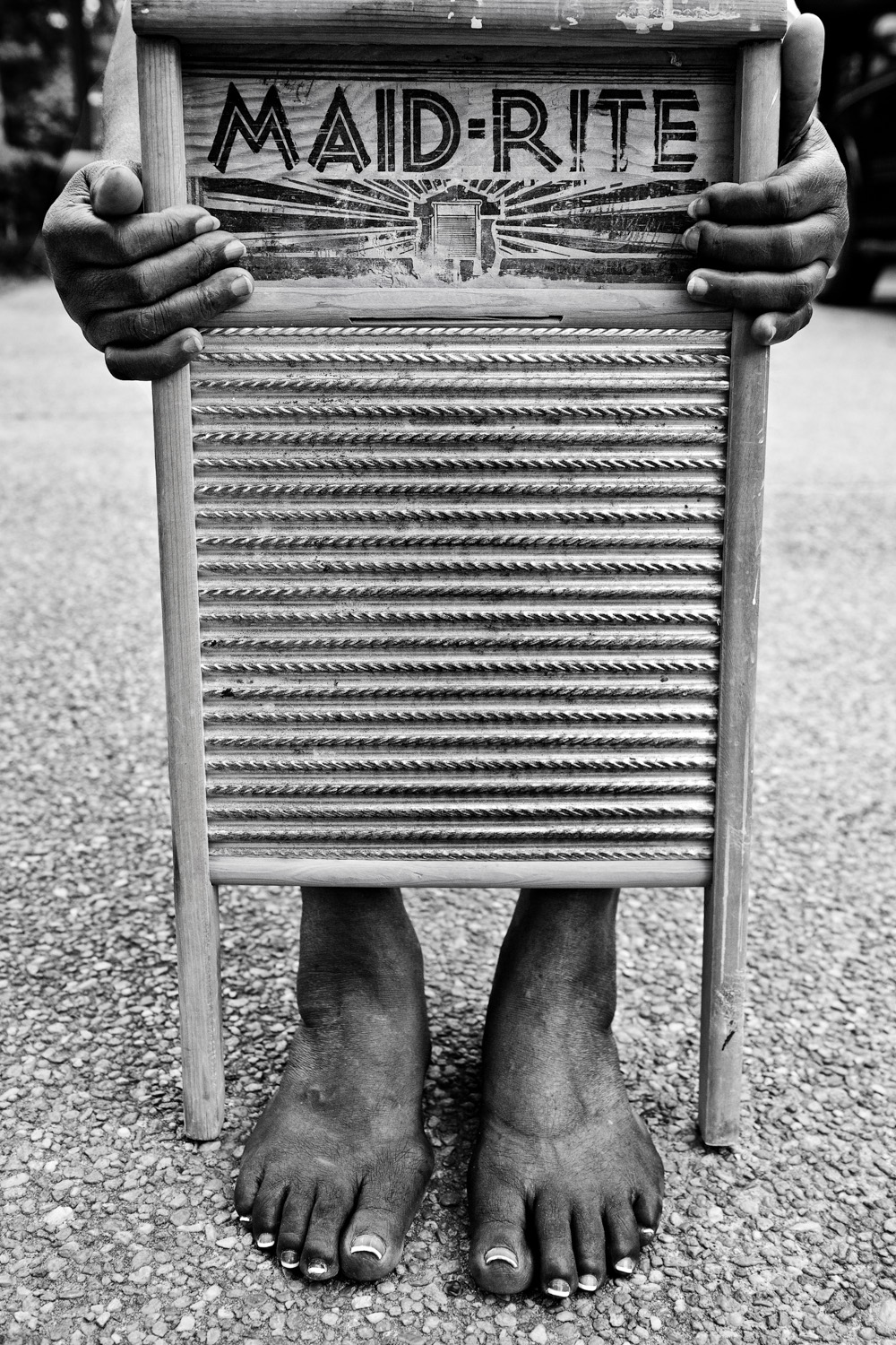Hattie with Washboard, 2011