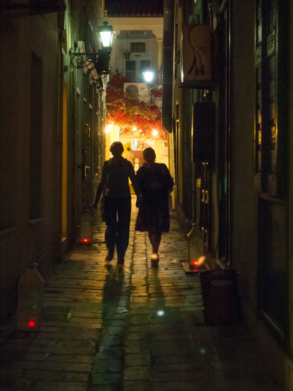 Two Women in Alley