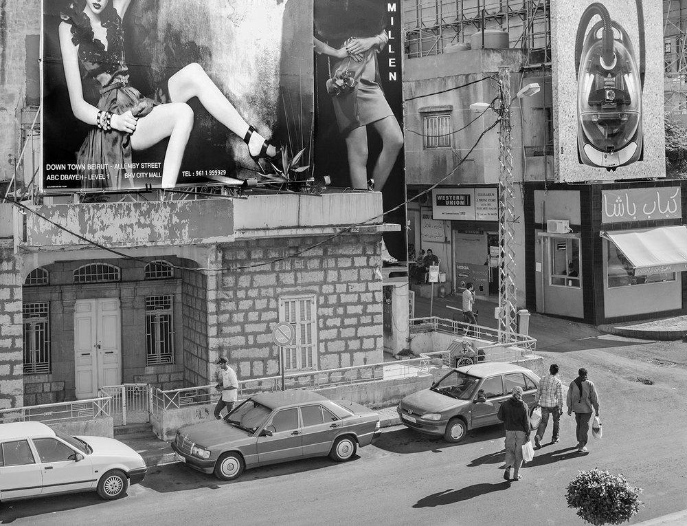 Millen/Bissell. Beirut, Lebanon,  2014  Archival Fiber Inkjet Print  13 x 18 inches