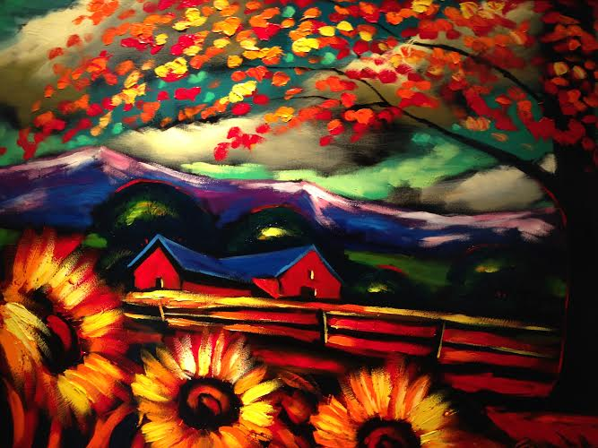 Sunflower Field by Cherep $2450