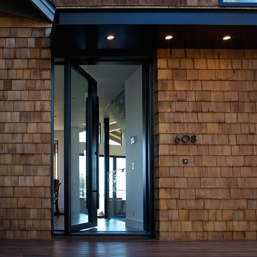 YUHL   Steel Entry Pivot Door, Awnings, Interior Pivot Doors, Barn Door Hardware & Outdoor Steel Firepit