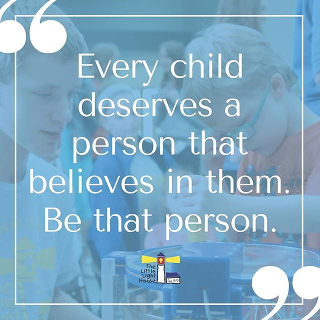 Every day, be that person. #kids #preschool #inspire #lead #love #minister #llhtulsa