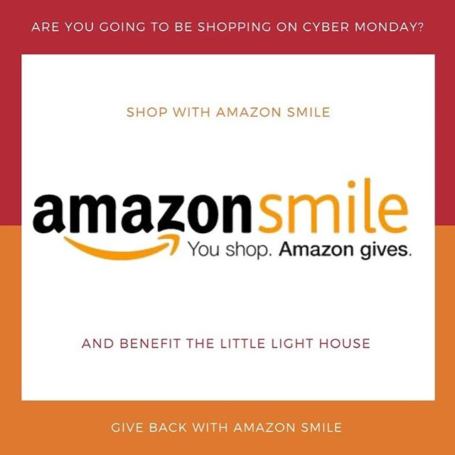 As you are doing your Cyber Monday shopping tomorrow, keep in mind to use Amazon Smile! Go to smile.amazon.com and start shopping!