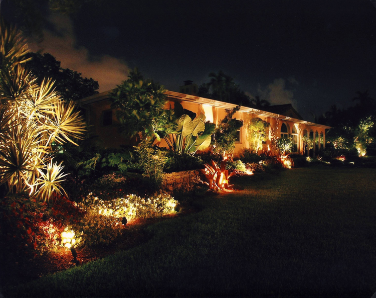 Landscape bright light designs of palm beach broward and miami miami shores residence aloadofball Gallery