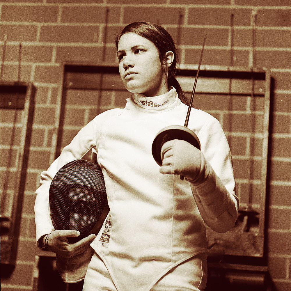 16 year old Fencer