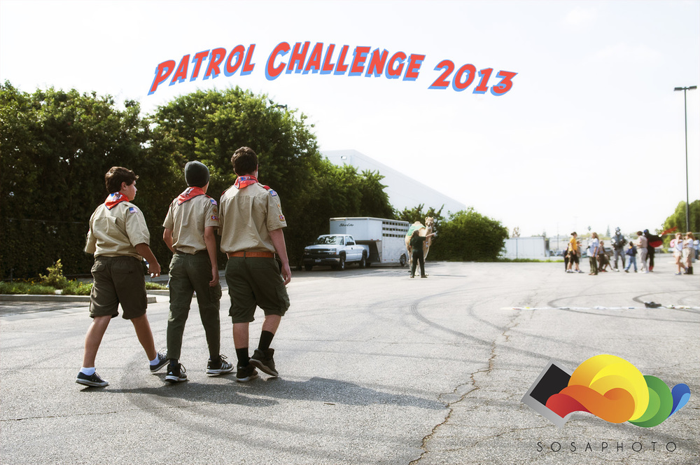 Patrol Challenge 2013. Hosting Boy Scouts and Girl Scouts all over Southern California.