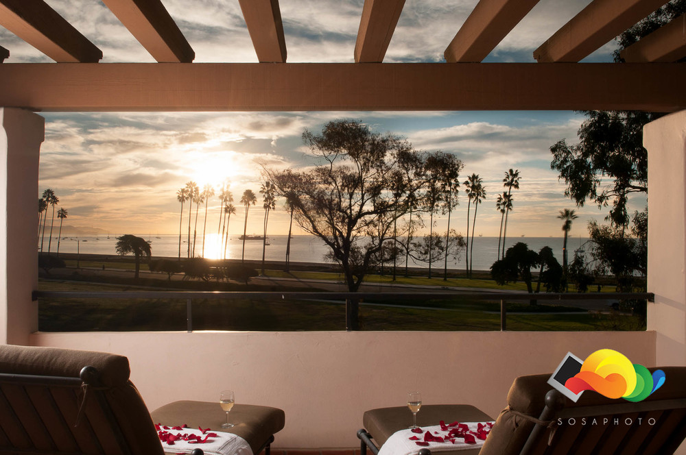 Sunrise at the  Fess Parker Double Tree ; ©Sosaphoto2015
