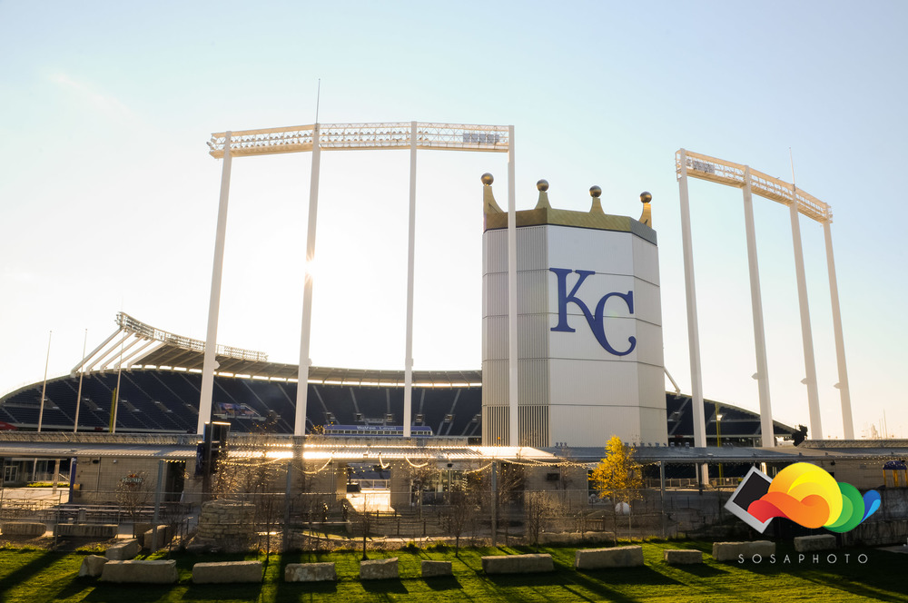 The Walls of the World Champion Kansas City Royals.
