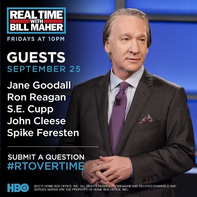 Real Time with Bill Maher: Celebrity Fragrances (HBO ...
