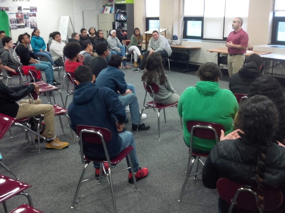 Jeffrey Cohen brings  Second Wind  to Alvarez HS Freshmen