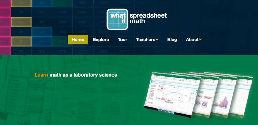 WhatIf Math is beginning a collaboration with the school.