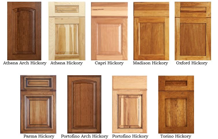 debut hickory options cape fear cabinets