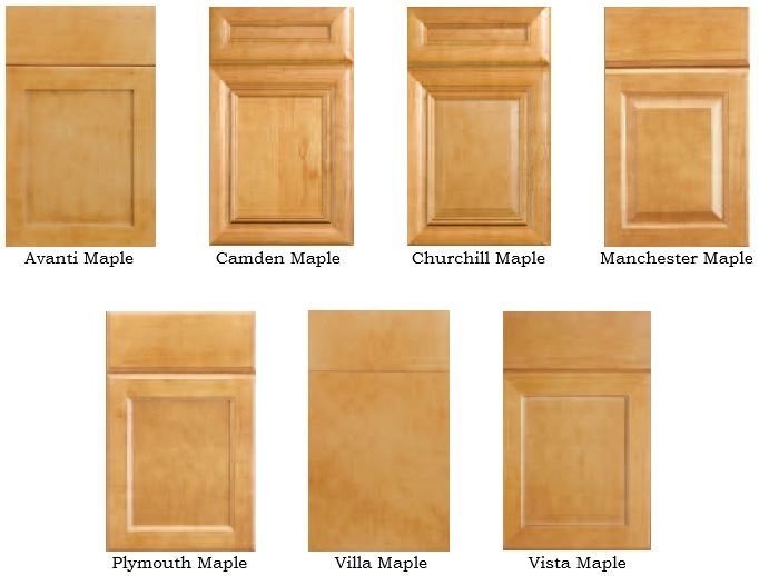 Legacy Maple Door Styles