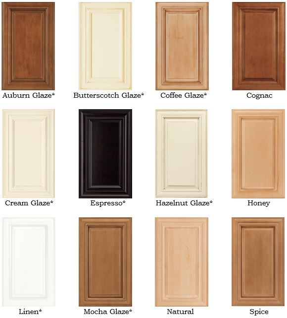 Waypoint Maple Options Cape Fear Cabinets