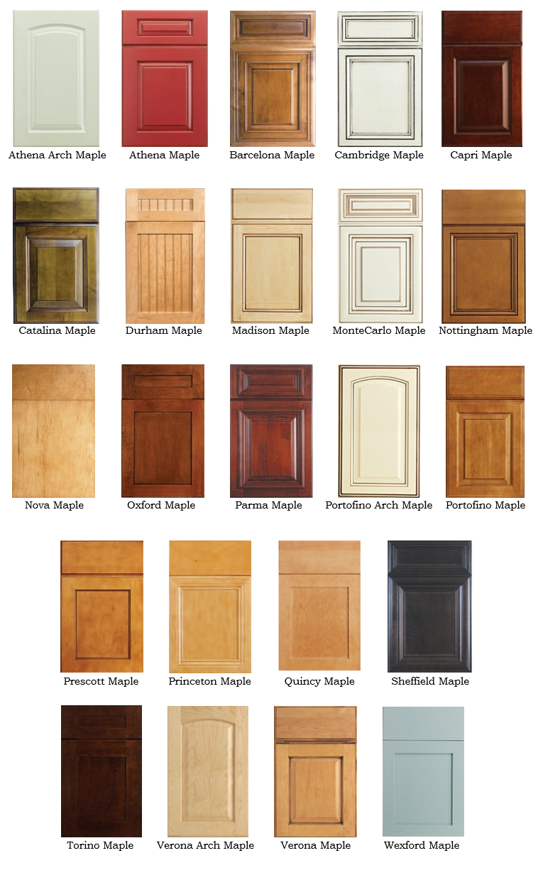 Debut Maple Options Cape Fear Cabinets
