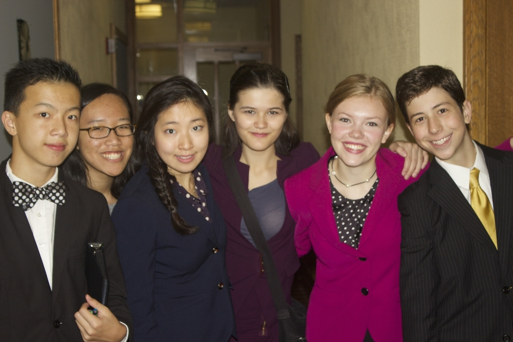Our Speech team at the Yale Invitational 2014