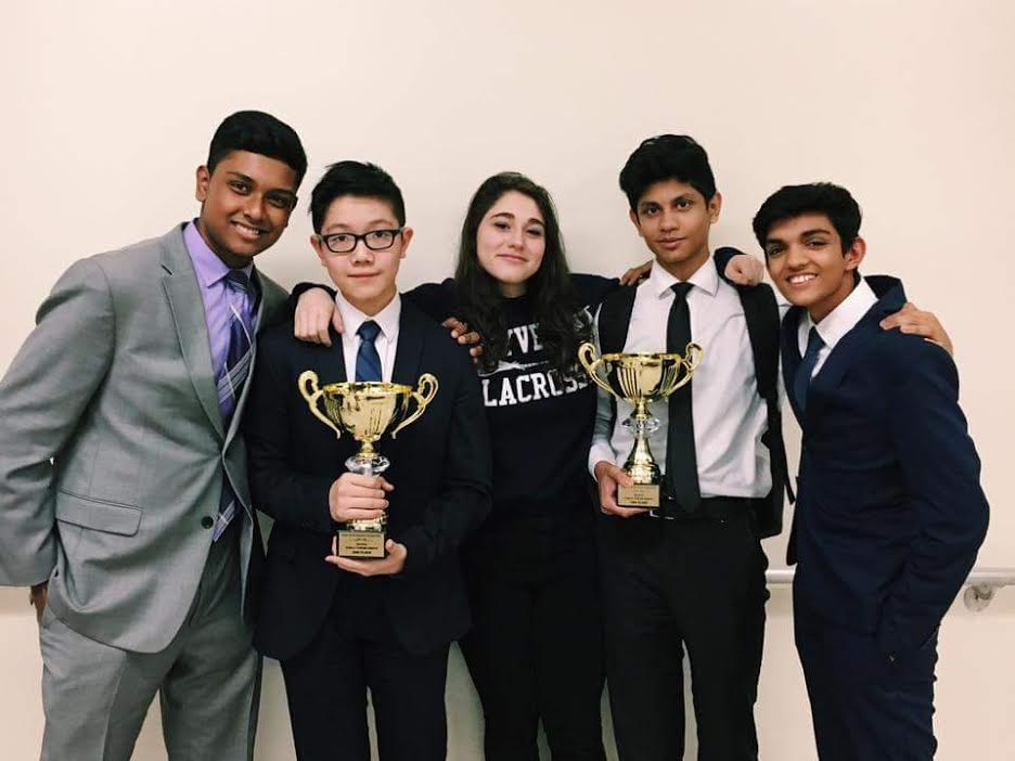 Novice PF Finalists & Varsity at   Ridge    Mohammad Ullah, Jeremy Lee, Inbar Pe'er, Tom Karim, Mahesh Saha
