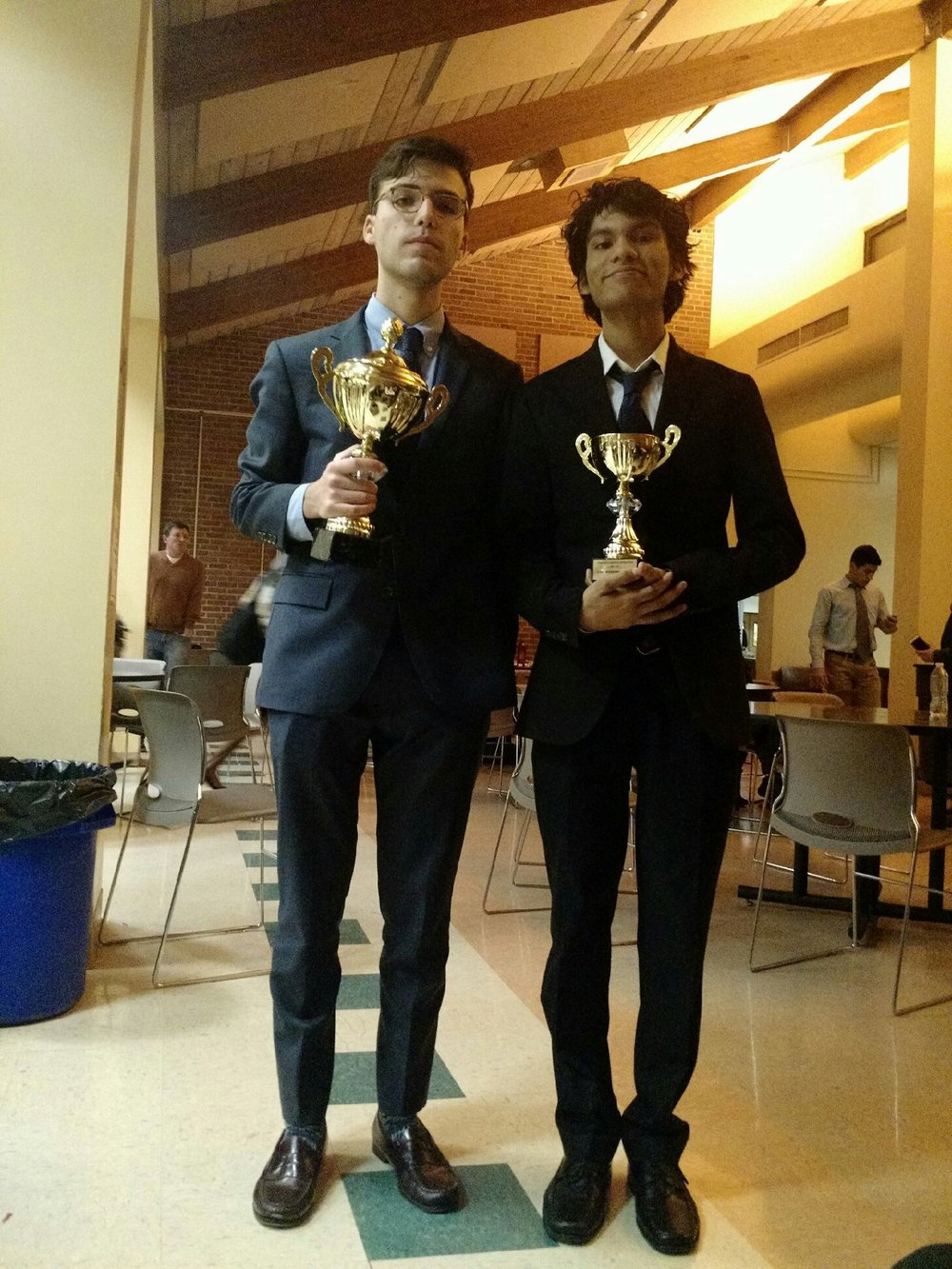 Asher Lasday, Champion & Shamaul Dilmohamed Finalist (8th Place) at Ridge Student Congress
