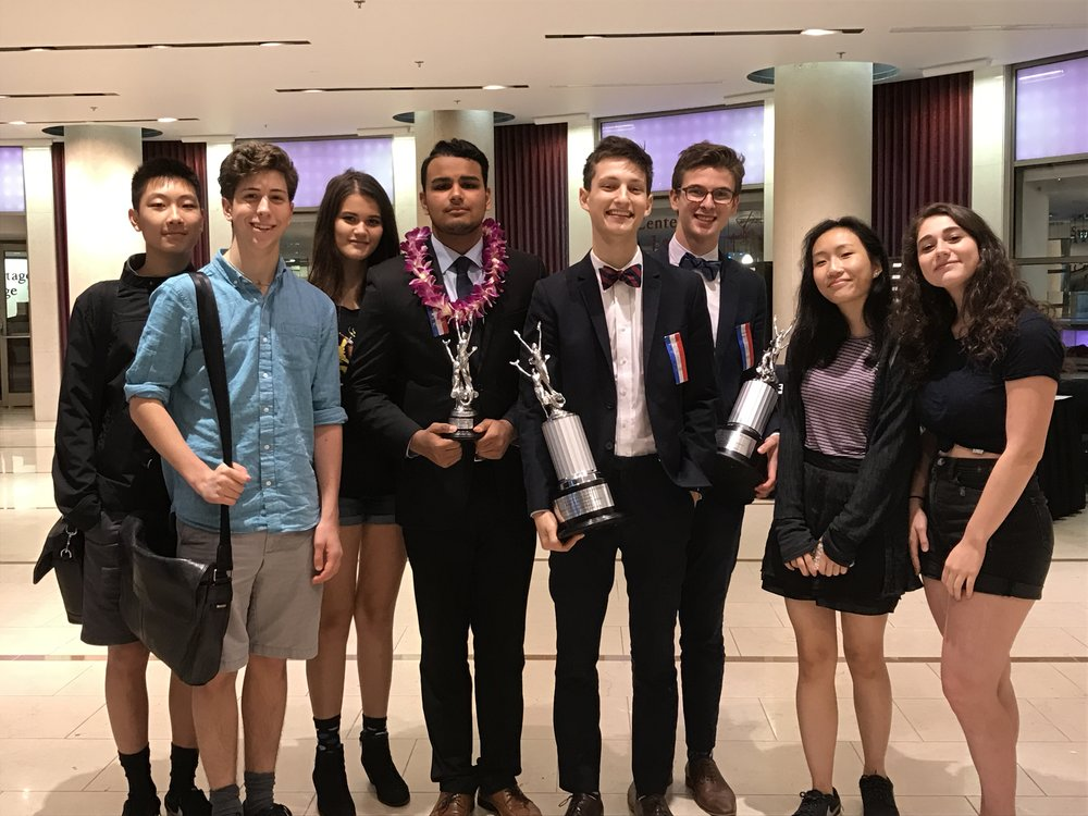 Speech and Debate Team at 2017 National Speech and Debate Tournament