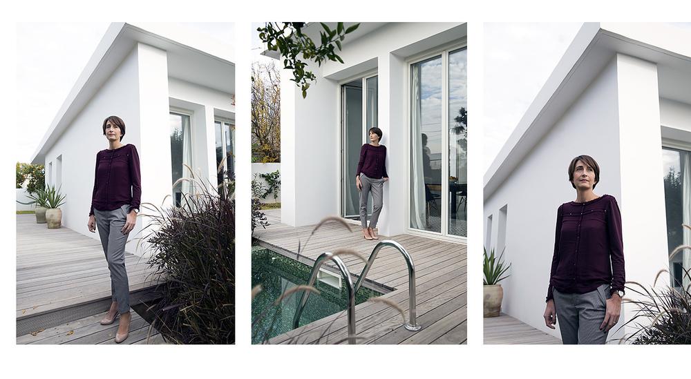 Aurélia Bouyssonie, architecte - agence   Un Cinquantième  - créatrice de   Marmo Spirito .
