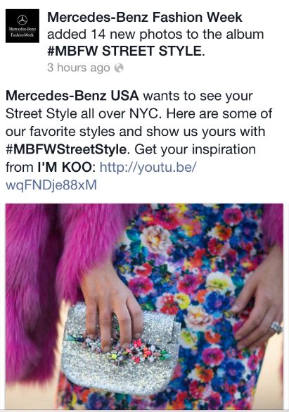Mercedes-Benz Fashion Week Facebook Page  Timur Emek