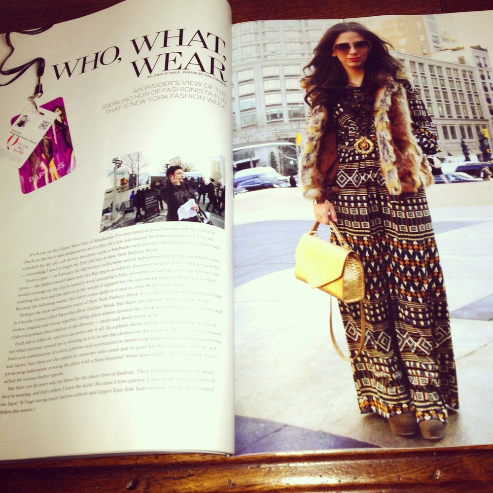 Indulge Magazine Tina Fineberg