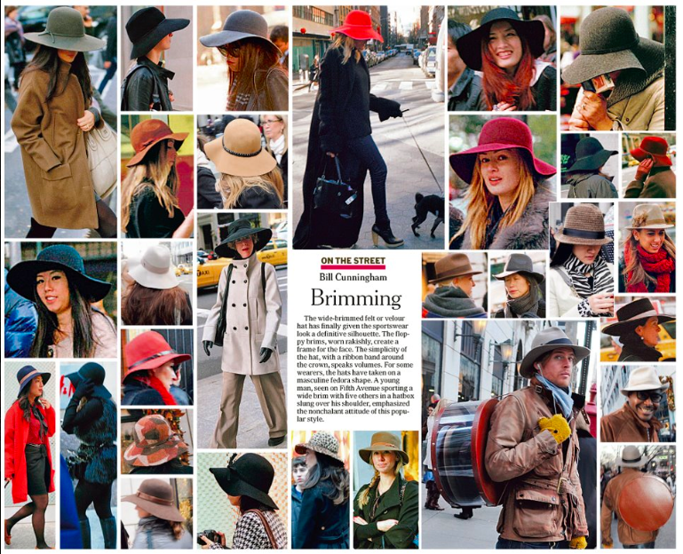The New York Times   On the Street with Bill Cunningham