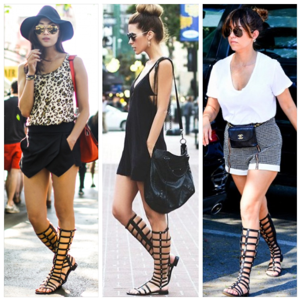 3 Style Interpretations of the Stuart Weitzman Gladiator Sandal