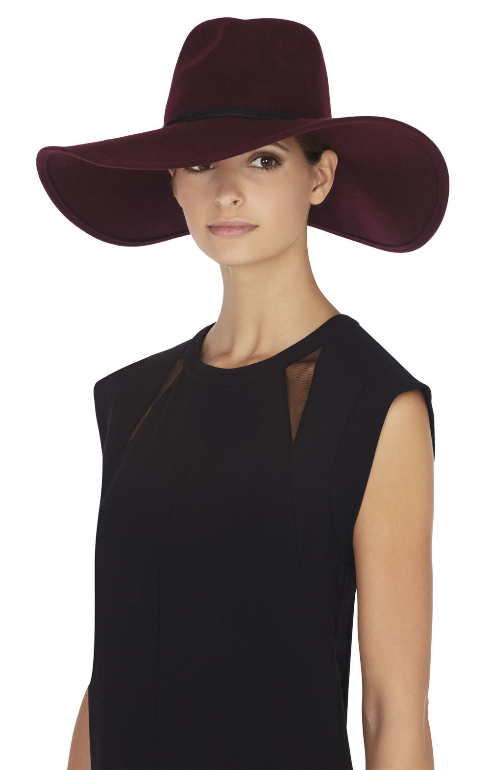 BCBG Butterfly Floppy Wool Hat, $88