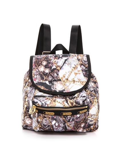 Erickson Beamon for LeSportsac Small Nico Backpack in Glenda Print , $128