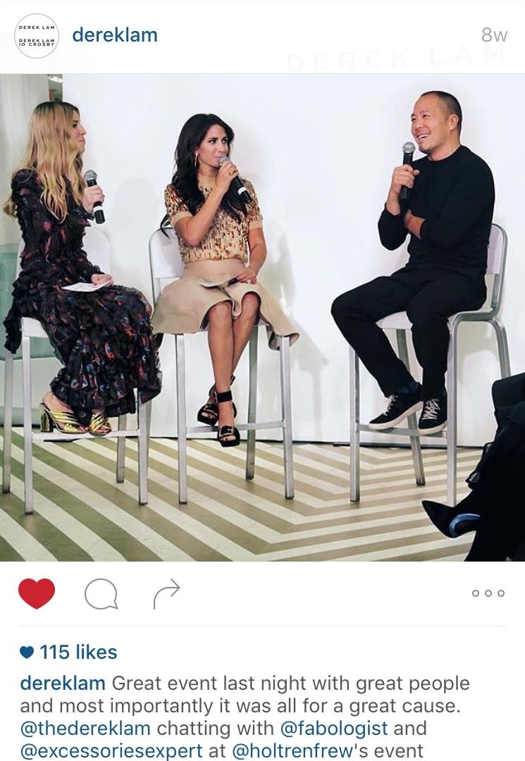Derek Lam Instagram