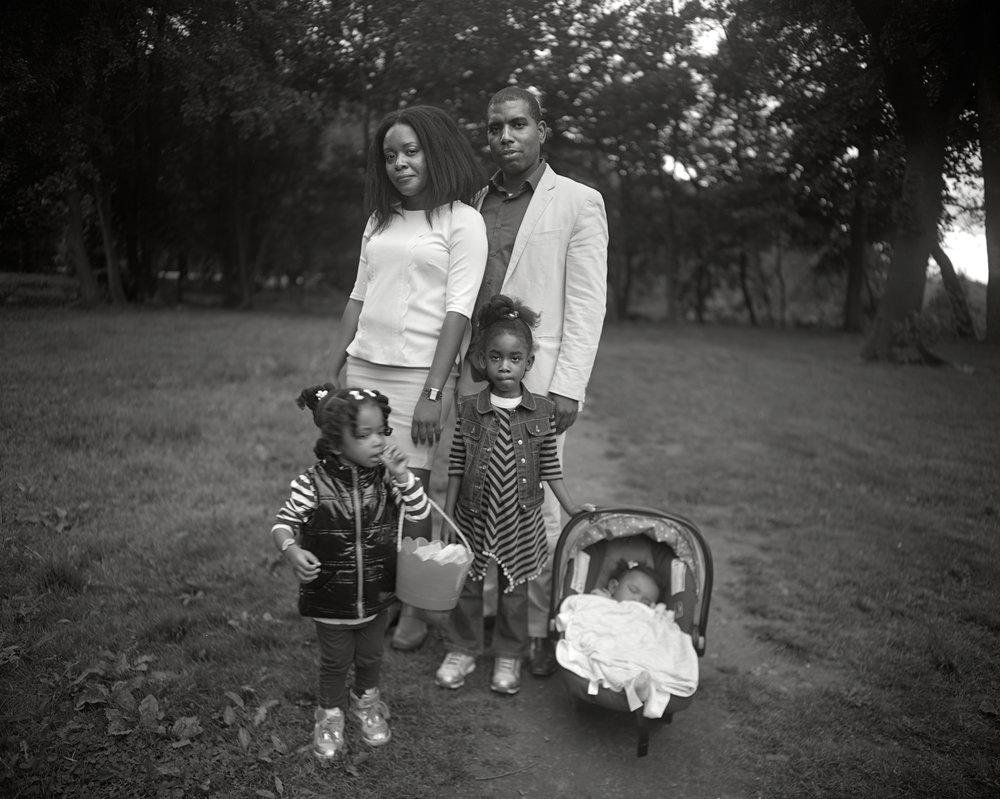 Family, Prospect Park, Brooklyn