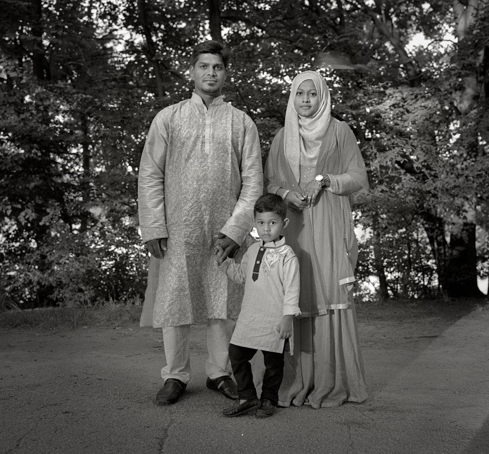 Rahman Family, Prospect Park