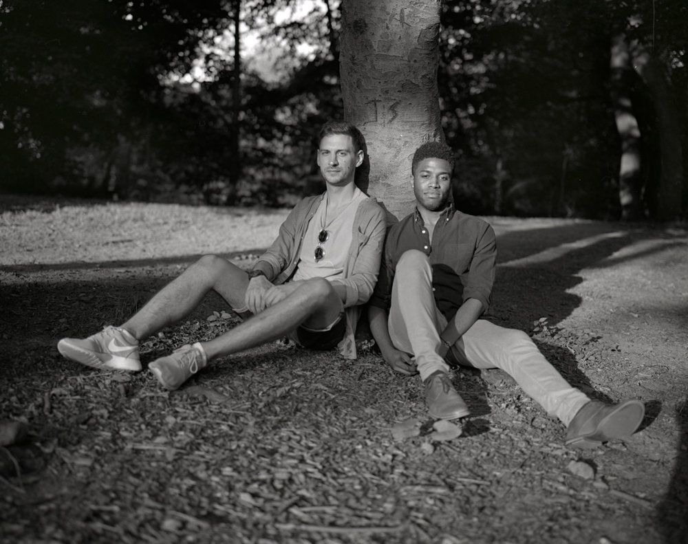 Brian and Dimitri, Prospect Park