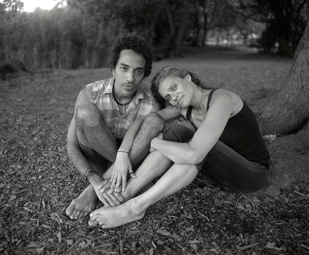 Neil and Lizzie, Prospect Park
