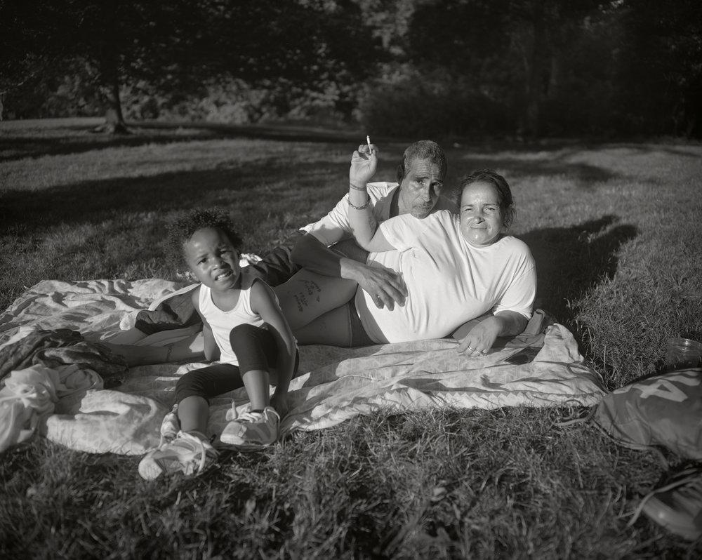 Family, Prospect Park