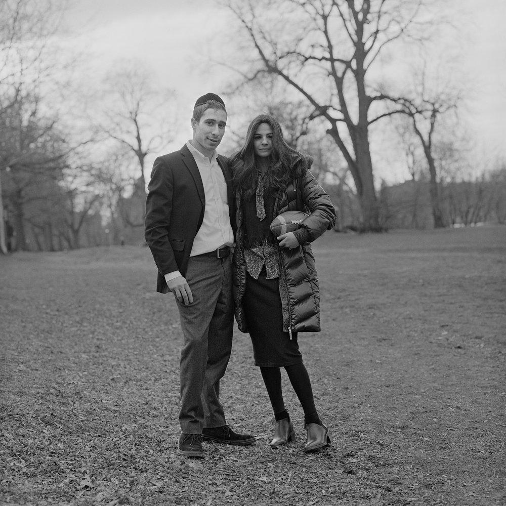 Abraham and Chani, Prospect Park