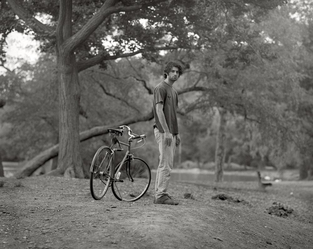 Jonathan with Bicycle