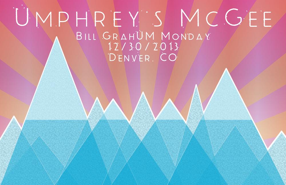 Umphrey's McGee 12/30/2013 AdMat