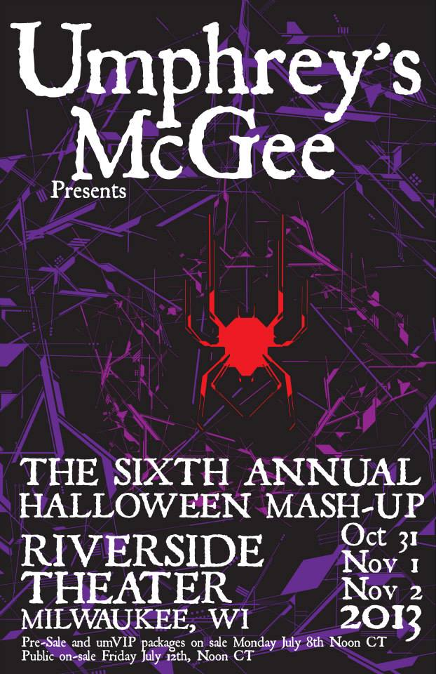 Umphrey's McGee Halloween 2013 Poster