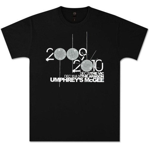 Umphrey's McGee NYE 2009-2010 Commemorative Shirt