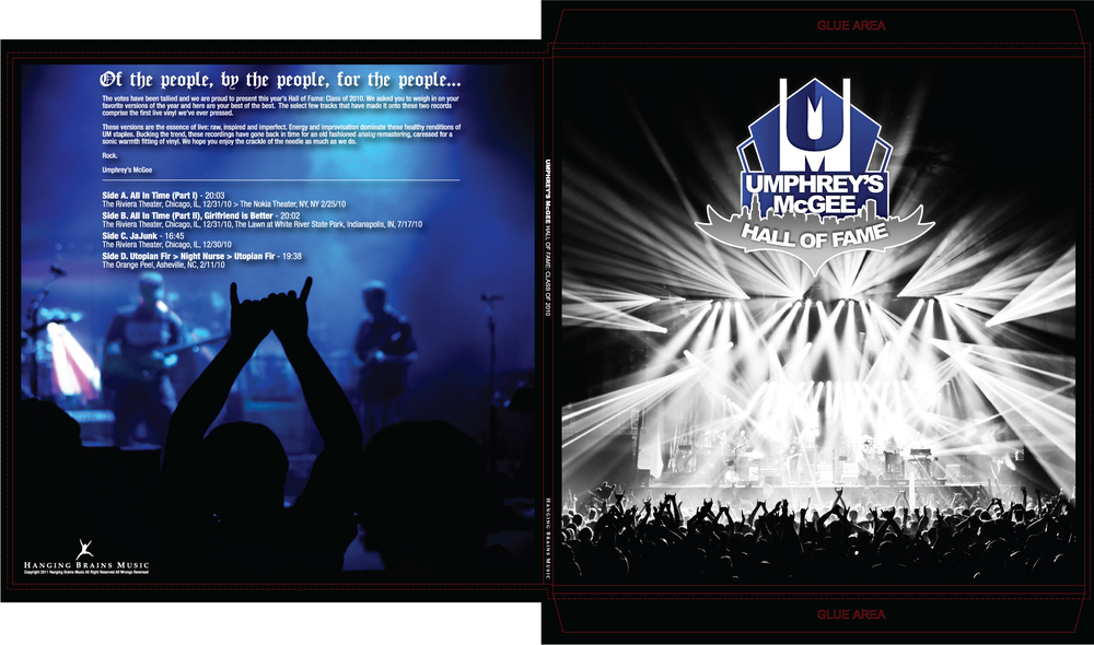 Umphrey's McGee Hall of Fame: Class of 2010 Layout